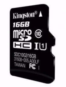 Picture of Kingstone SD Card 16 GB Class 10